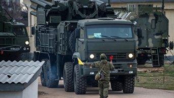 Комплекс ПВО С-400 Триумф заступил на боевое дежурство в Севастополе
