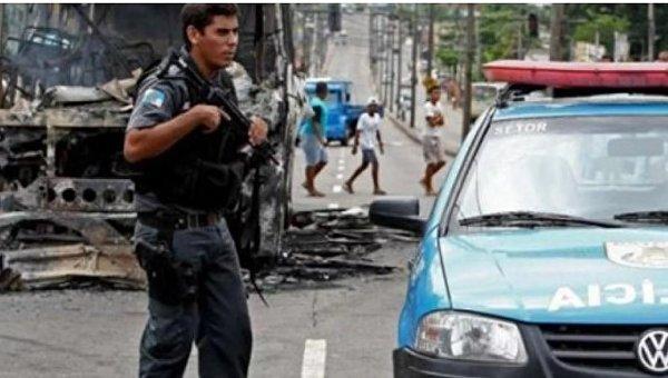 Массовое ДТП в Бразилии