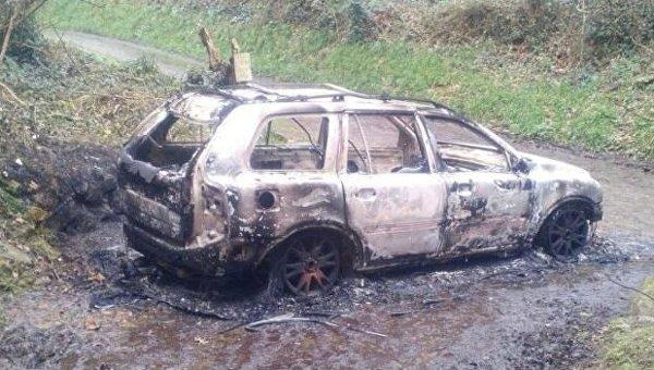 На британском острове Гернси был сожжен автомобиль предположительно литовца Мика Альпса