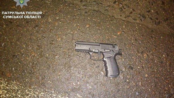 Стрельба в магазине в Сумах