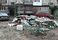 Хозяйка квартиры выбросила вещи квартирантки на улицу в Полтаве
