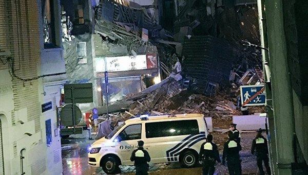 Взрыв вАнтверпене разрушил строение