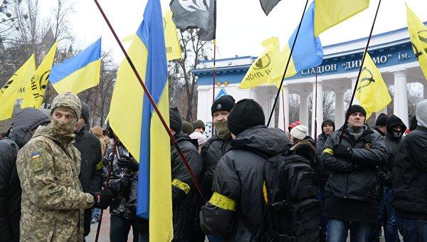 Марш активистов