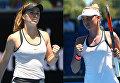 Украинские теннисистки Элина Свитолина и Марта Костюк
