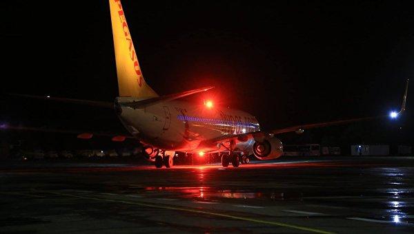Самолет в аэропорту Одессы