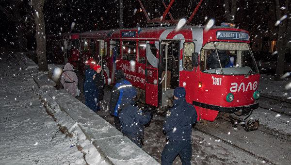 Днепрянин умер в трамвае