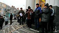 Пенсионеры-силовики требуют перерасчета пенсий в Виннице