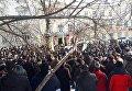 Митинг военных пенсионеров МВД во Львове. Архивное фото