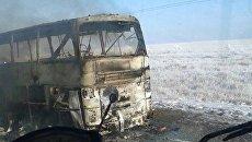 При возгорании пассажирского автобуса в Казахстане погибли более 50 человек