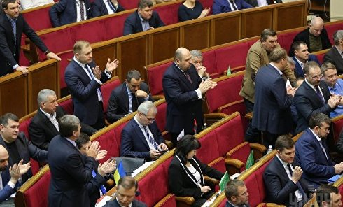Рада приняла закон об обеспечении суверенитета на Донбассе