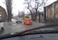 В Одессе затопило улицу. Видео