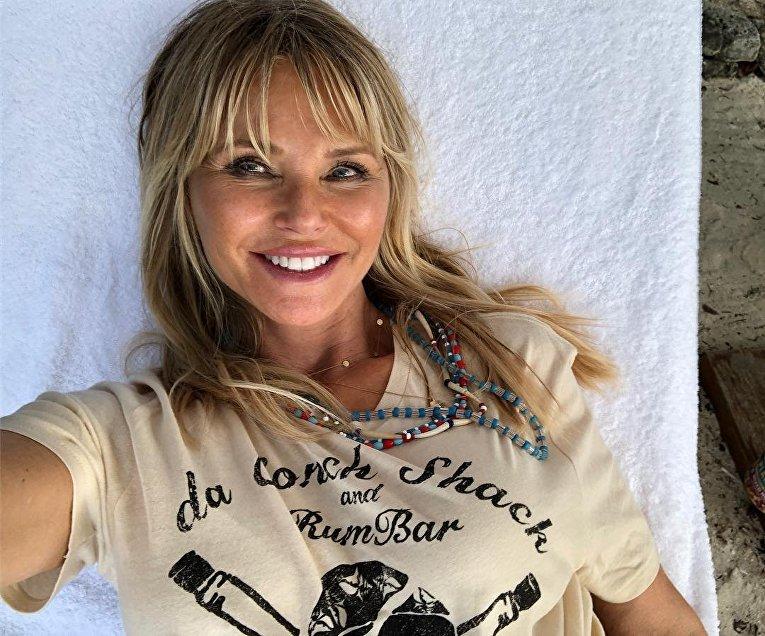 Супермодель 90-х, бывшая модель Playboy Кристи Бринкли