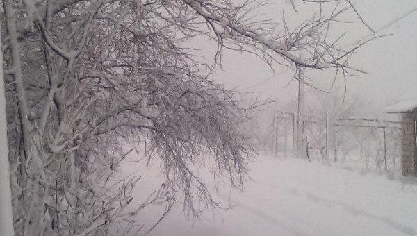 Ситуация в Измаиле после снегопада, 18 января 2018