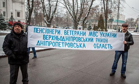 Митинг под стенами ОГА: пенсионеры грозятся перекрыть дороги