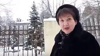 Жители Донецка о проблемах с мобильной связью. Видео