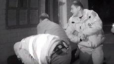 Полиция избила и пытала водителя в Запорожской области