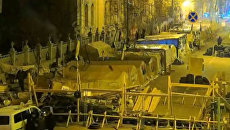 В соцсетях появилось видео, как вывозят труп из  палаточного городка