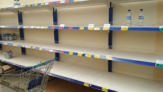 Отсутствие воды на полках в магазинах Черкасс