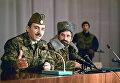 Президент Чеченской Республики Джохар Дудаев. Архивное фото