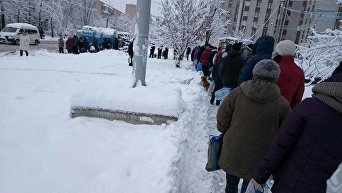 Ситуация в Черкассах из-за отсутствия воды