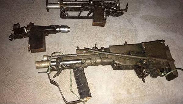 Оружие, изготовленное одесским стрелком Валентином Дорошенко