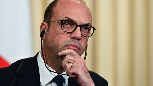 Министр иностранных дел Италии Анджелино Альфано