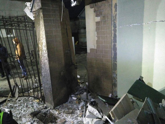 На базе отдыха в Затоке взорвалась самодельная бомба