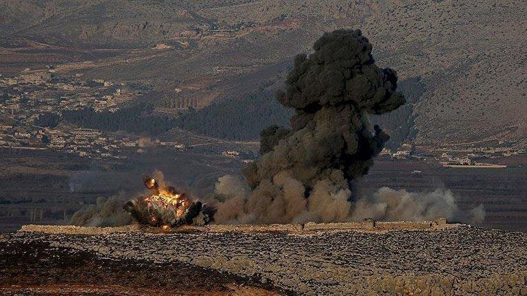 Операция Оливковая ветвь в сирийском Африне