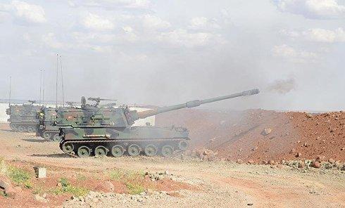 Артиллерия ВС Турции