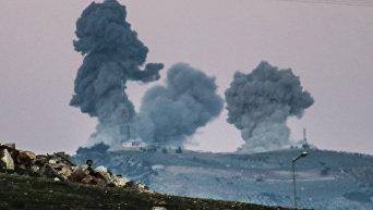 Операция турецких ВВСОливковая ветвь в сирийском Африне