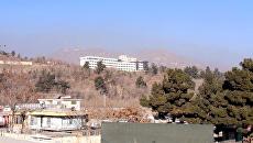 На месте атаки в Кабуле