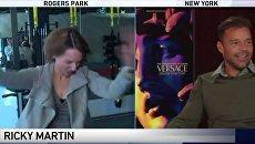 Американская ведущая взорвалась эмоциями после общения с Рики Мартином