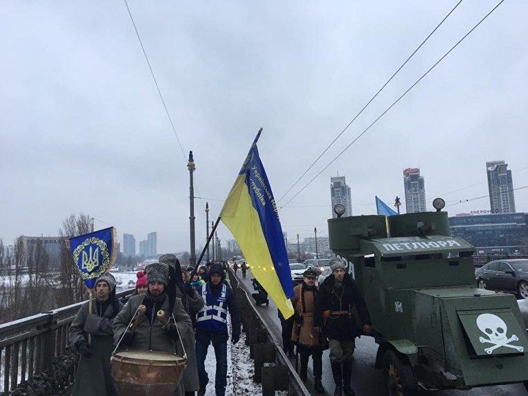 День Соборности в Киеве
