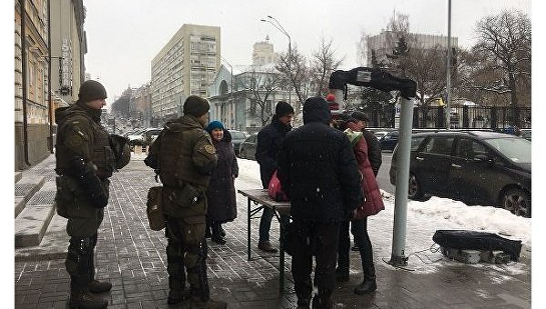 Силовики на улицах Киева