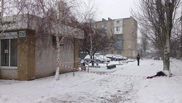 В Бердянске преступник бросил гранату в полицейских