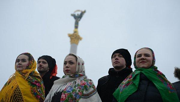 Жители Украины. Архивное фото