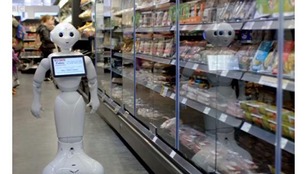 1-ый вмире робот-продавец «уволен»