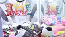 Расхитительница автоматов. Китаянка выиграла 7000 игрушек. Видео