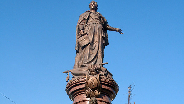 Суд вОдессе отказал всносе монумента ЕкатеринеII