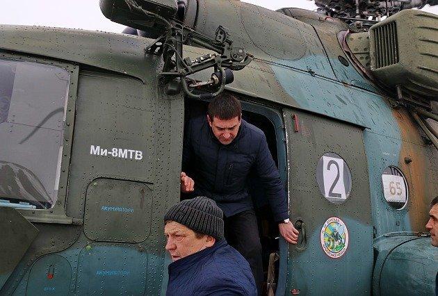 Раненых полицейских из Бердянска на вертолете перевезли в Днепр