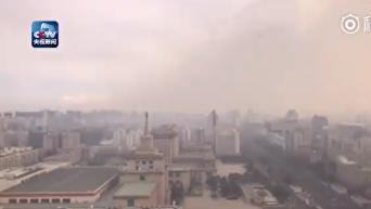 Когда смог встречается с ветром