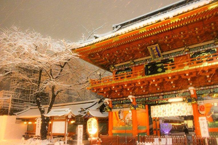 Достопримечательности Токио стали выглядеть завораживающе