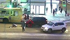 Россиянка встала и пошла после того, как ее сбило авто