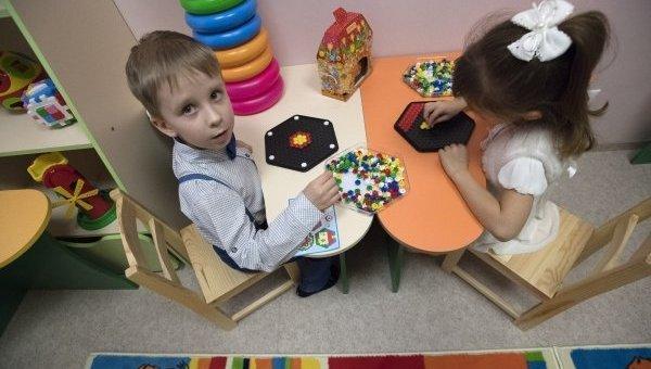Детский сад в Киеве. Архивное фото