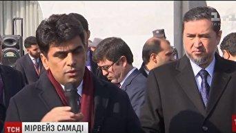 В морге Борисполя провели закрытую траурную церемонию по погибшим в Кабуле украинцам