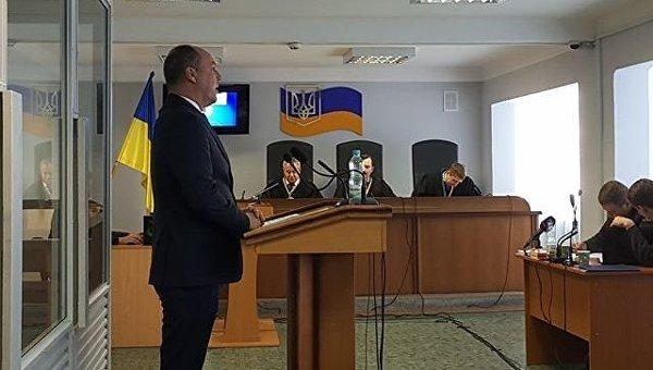 Допрос спикера Верховной Рады Андрея Парубия в Оболонском районном суде