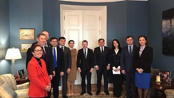 Волкер на встрече с народными депутатами Украины