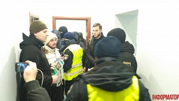 Члены С14 в офисе Союза православных журналистов
