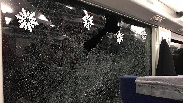 В популярную украинскую певицу бросили камень, когда она ехала в поезде