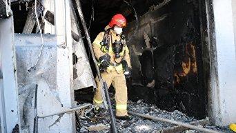 Последствия масштабного пожара в госпитале в Южной Корее